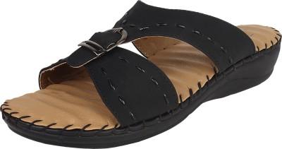 Niremo Women Black Flats