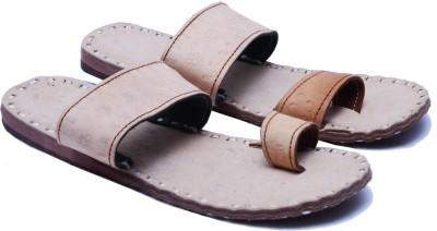 Manthana Men White Sandals