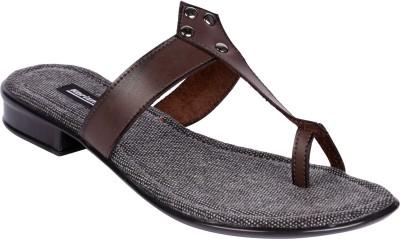 karizma shoes Women Brown Flats