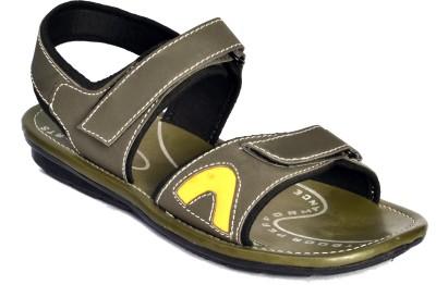 Aadolf Men Olive Sandals