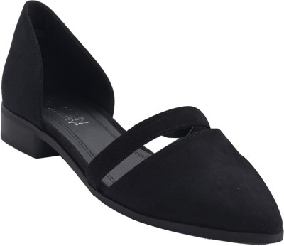 Urban Monkey Women Black Flats
