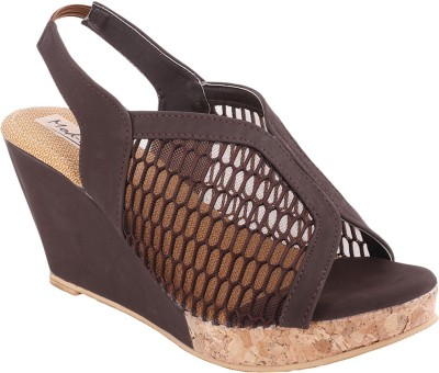 Modin Women Brown Wedges