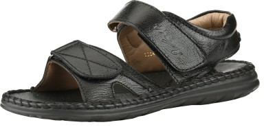 Menz Men Black Sandals