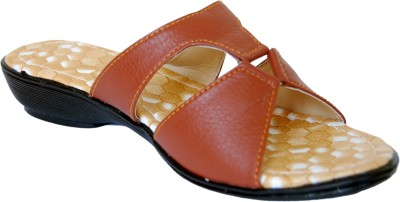 Gizelle Women Brown Wedges