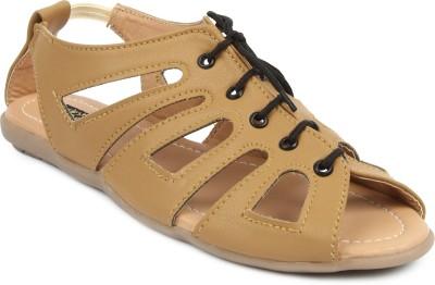 Cute Feet Women Tan Flats