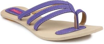 Fiorella Women Purple Flats