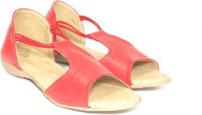 Fashion Wear Women Red Flats