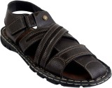 Shoegaro Men Brown Sandals