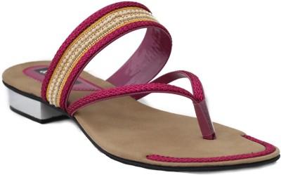 Trendy Enterprises Women Pink Heels