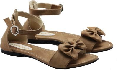 Margaux Women Brown Flats