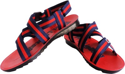 Elligator Men Red Sandals