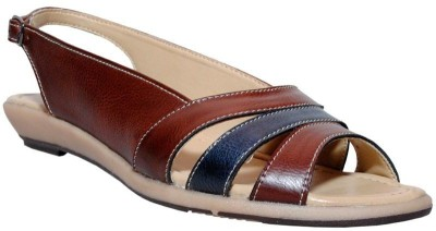 Bon Taff Women Brown Flats
