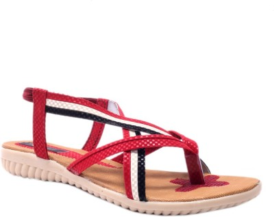 Rimezs Women Red Flats