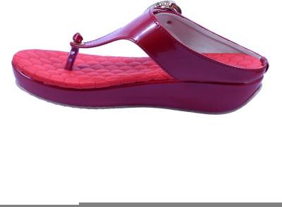 Anira Fashion Women Red Wedges