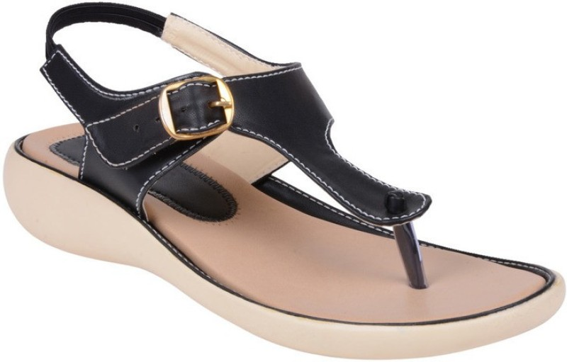 Footshez Women Black Flats