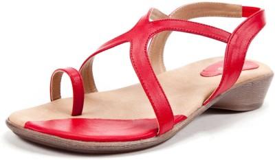 Beyond Women Red Flats