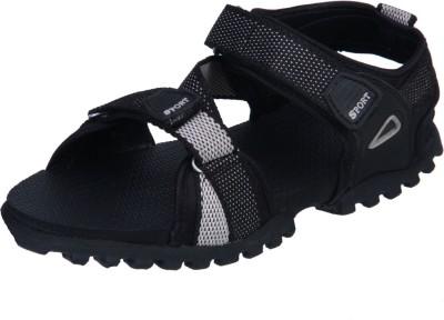 IRUS R-SPORTS Men Black, Grey Sandals