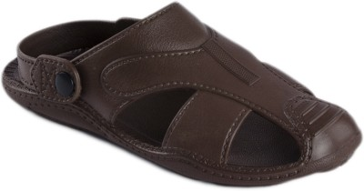 Spice Pathani Men Brown Sandals