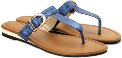 Addons Women Blue Flats