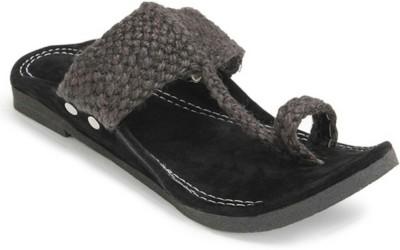 Footrendz Men Black Sandals