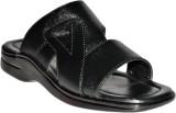 Leather Chief Men Black Sandals