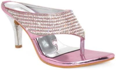 Aleg Women Silver Heels