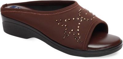 La Zilver Women Brown Heels
