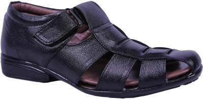 Modekss Men Black Sandals