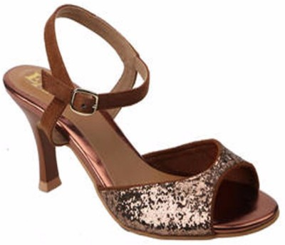 Eve Dior Women Brown Heels