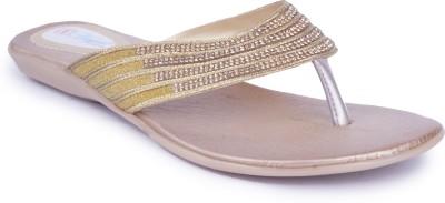 Starchi Women Gold Flats