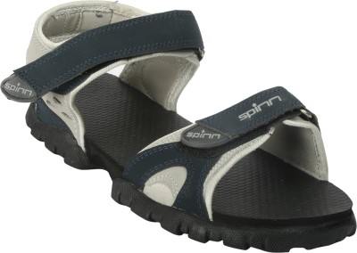 Spinn Men Navy, Grey Sandals
