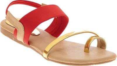 Elan Girls Red Flats