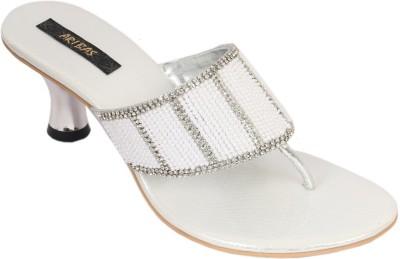 ARIBAS Women Silver Heels