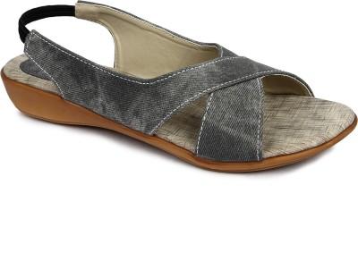 Urban Woods 661-6702-Grey Women Grey Flats