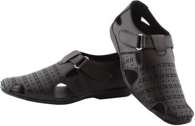 BORON Men Black Sandals