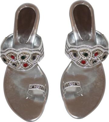Mellofic Women Silver Heels