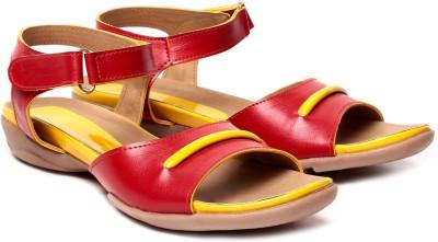 Nell Women Red Flats