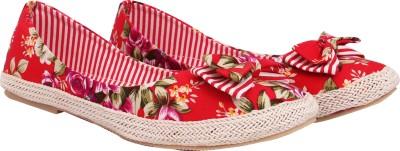 Welson Women Red Flats