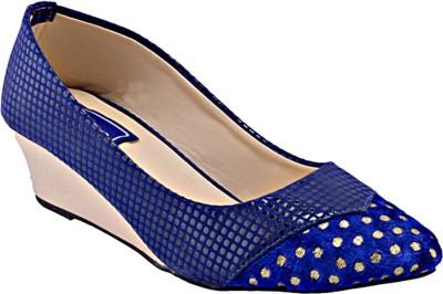 RELEXOP Women Blue Wedges