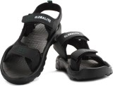 Globalite Men Black Grey Sandals
