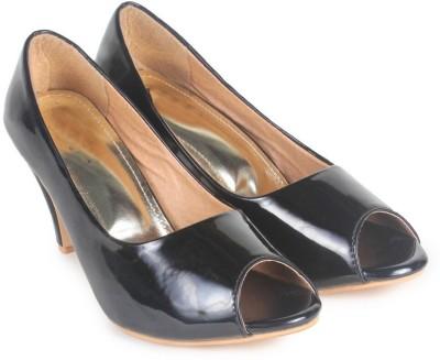 Ziesha Women Black Heels