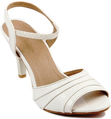 SANDHILLS Women White Heels