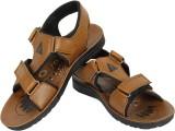 Vivaan Footwear Men Tan Sandals