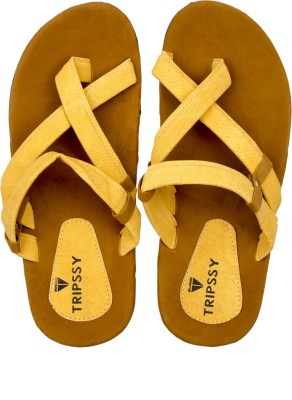 Flamboyance Men Yellow Sandals