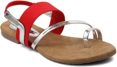 Infiniti Women Red Flats