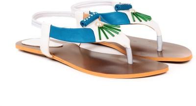Ka Fashion Women Blue Flats