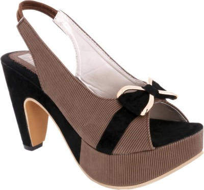 Modin Women Brown Heels