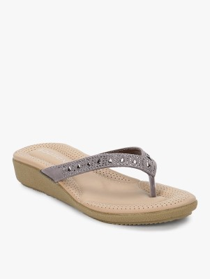 Addons Women Grey Flats
