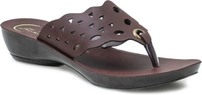 Action Shoes Women Brown Flats