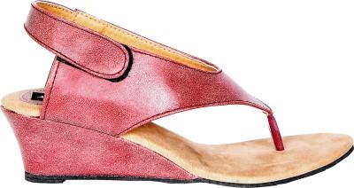 Marie Comfort Girls Pink Wedges